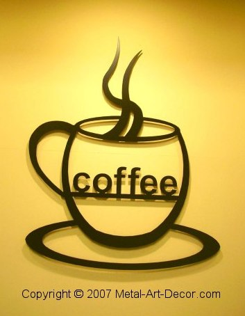 33 Best Images About Coffee Decorations On Pinterest Metal Artwork Outdoor Garden Decor And Wall Art Decor