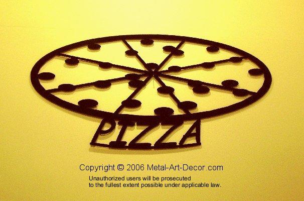 Pizza restaurant modern wall art decor